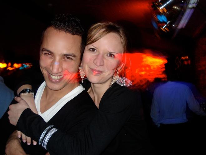 Hakim et Guillemette à la Jamboree- Photo: Kim Gradek