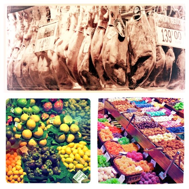 Les différents aliments du marché La Bocaria coloreront vos journée! Photo: Kim Gradek